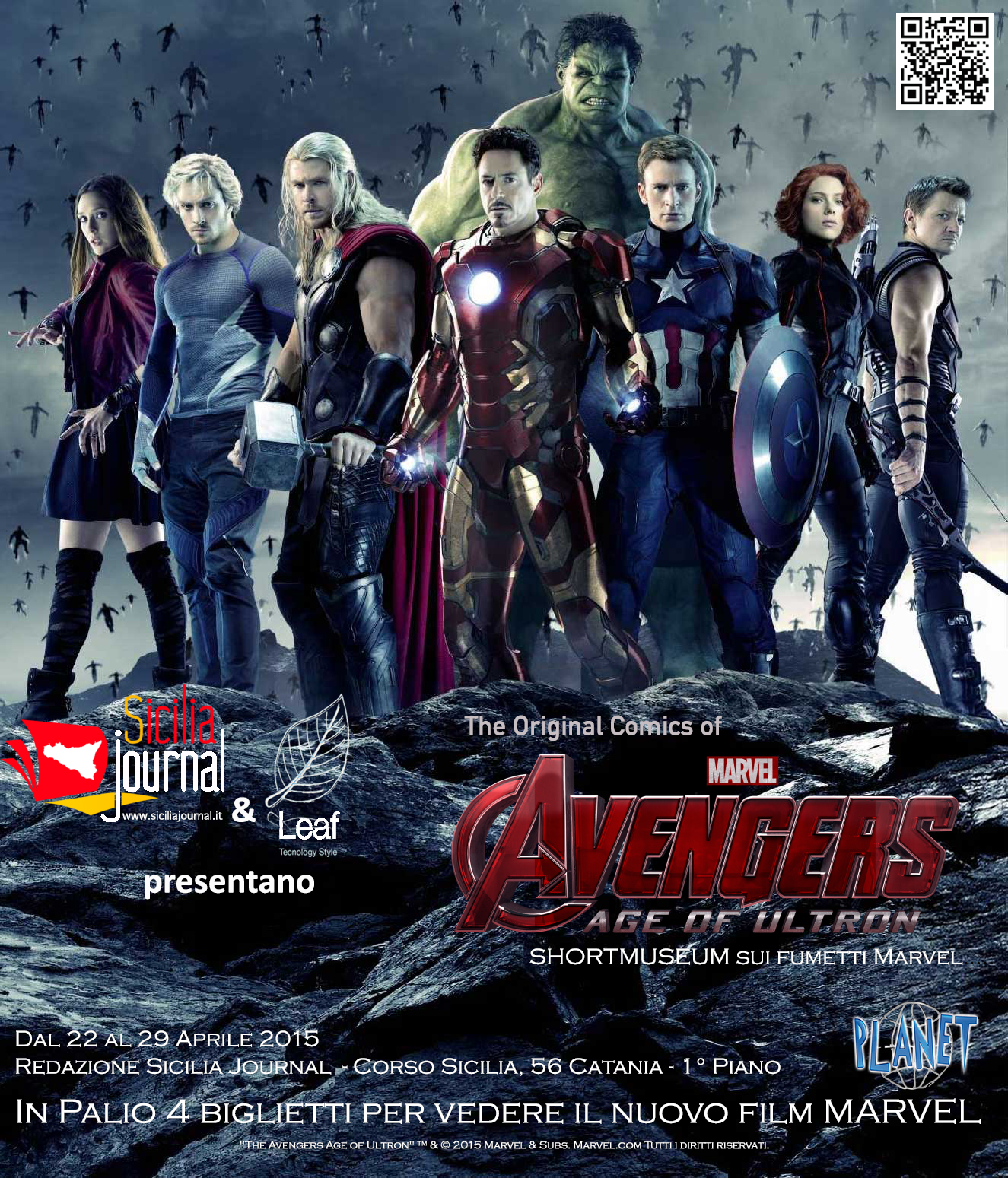 Mostra Avengers Age of Ultron