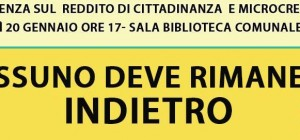 Paternò: Conferenza- Reddito di cittadinanza e Microcredito del M5S