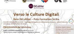 "Workshop ""Verso le Culture Digitali"" Rete DiCultHer- Polo Formativo Sicilia"